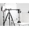 三脚架垂直俯拍加长延长杆拍摄道具摄影器材灯架四头横臂