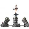 雷影电动滑轨电控碳纤维 单反相机跟焦滑轨 延时摄影滑轨摄像轨道