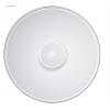金贝QZ-50雷达反光罩50cm专业摄影器材灯具光效附件白色雷达罩美人碟顶光轮廓光效果人像拍摄